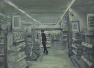 Closing time I - 30  x 45 cm - oil on linnen - 1994